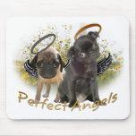 Perfect Angel Pugs Mousepad