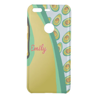 Perfect Avocado pattern Uncommon Google Pixel Case