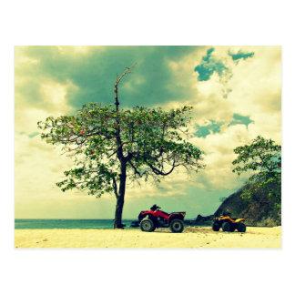 Perfect Beach Day In San Juanillo, Costa Rica Postcard