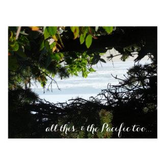 Perfect Beach Holiday Postcard