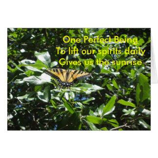 Perfect Being Haiku/Btrfly Card