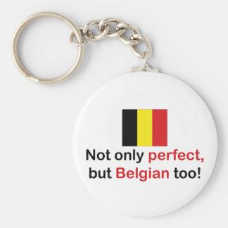 Perfect Belgian Keychain