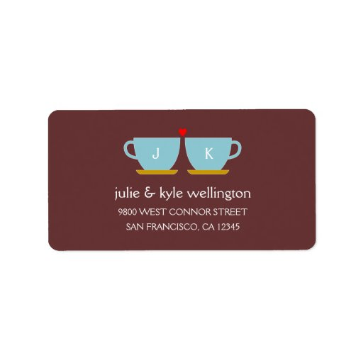 Perfect Blend Address Label Personalized Address Label