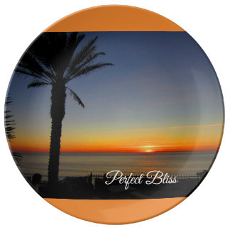 Perfect Bliss – Sunset in Dana Point, California Plate