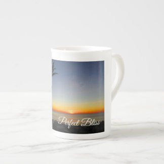 Perfect Bliss – Sunset in Dana Point, California Tea Cup