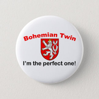 Perfect Bohemian Twin 2 Inch Round Button