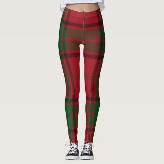 Perfect Christmas Plaid Leggings
