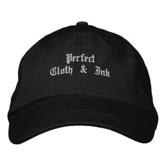 Perfect Cloth & Ink Embroidered Hat