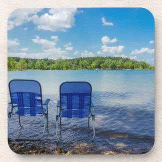Perfect Day At The Lake Coaster