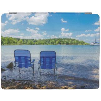 Perfect Day At The Lake iPad Cover