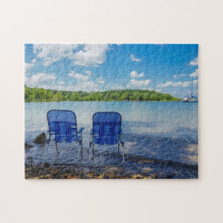 Perfect Day At The Lake Jigsaw Puzzle
