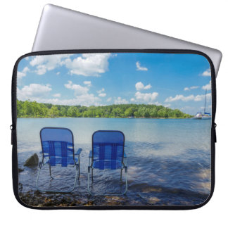 Perfect Day At The Lake Laptop Computer Sleeves
