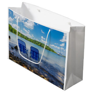 Perfect Day At The Lake Large Gift Bag