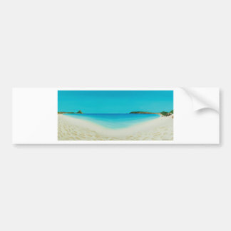 Perfect day (longrock beach Marizion) Bumper Sticker