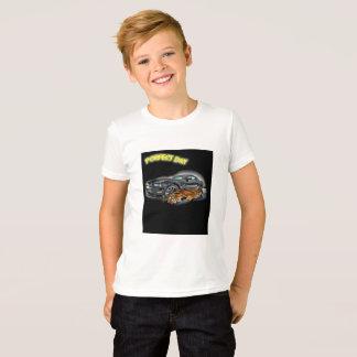 Perfect day Tiger car run emotion T-Shirt