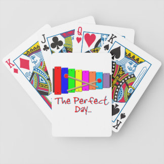 Perfect Day Xylophone Bicycle Playing Cards