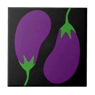 Perfect Eggplants Tile