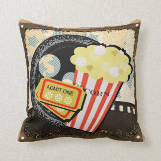 Perfect Entertainment Room Decor - Throw Pillow