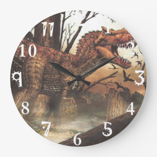 Perfect for any family wall-design, large clock