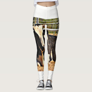 Perfect for the Cowgirl.....Women's Cow Leggings
