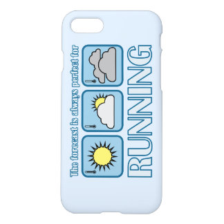 Perfect Forecast for Running iPhone 7 Case