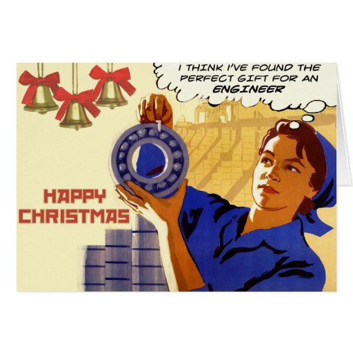 Perfect Gift For An Engineer - Christmas Card