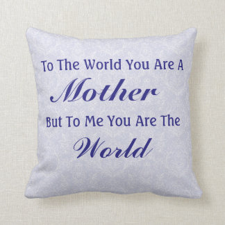 Perfect Gift For Mom Pillow Gift