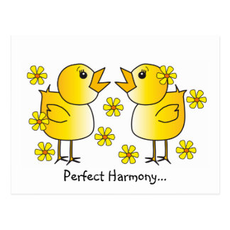 Perfect Harmony Postcard