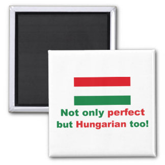 Perfect Hungarian Square Magnet