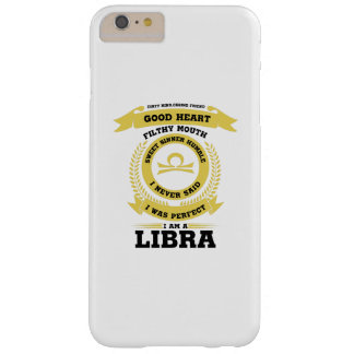 Perfect I Am A Libra Zodiac Sign Birthday Gif Barely There iPhone 6 Plus Case
