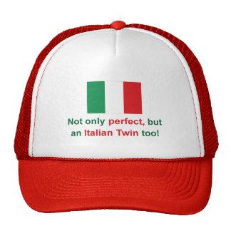 Perfect Italian Twin Trucker Hat