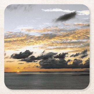 Perfect Koolan Sunrise Square Paper Coaster
