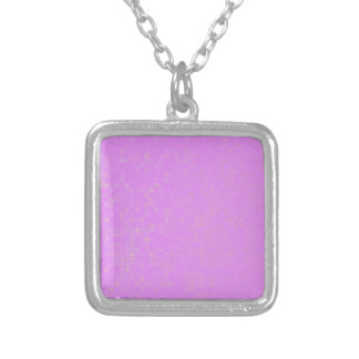 Perfect Lavender Silver Plated Necklace