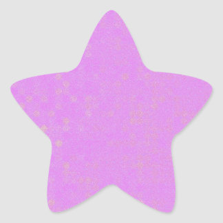 Perfect Lavender Star Sticker