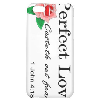 Perfect love casteth out fear iPhone 5C covers
