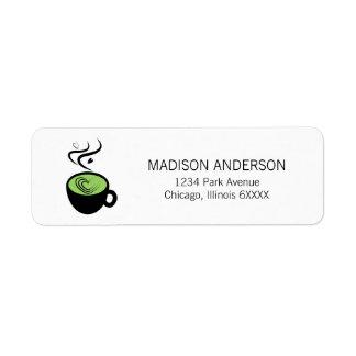 Perfect Matcha Valentine Love Address Labels