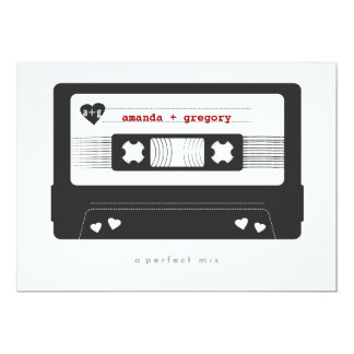 Perfect Mix Save the Date Card