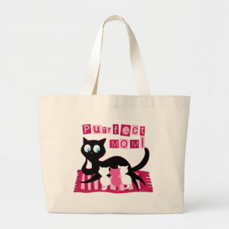 Perfect Mom Mother's Day Canvas Bag