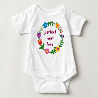 Perfect New Love Baby Bodysuit