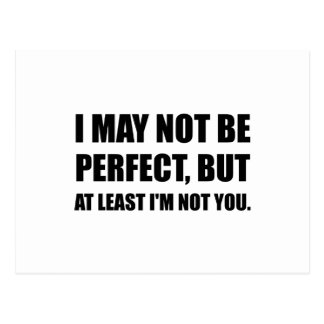 Perfect Not You Postcard