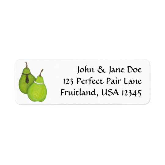 Perfect Pair Address Labels