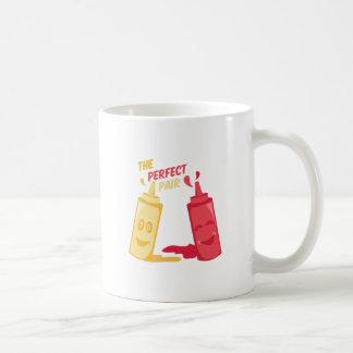 Perfect Pair Basic White Mug