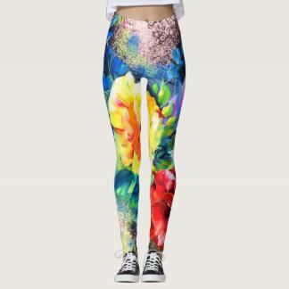 Perfect pairing of Art + Yoga leggins. Leggings
