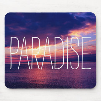 Perfect Paradise Sunset Mouse Pad