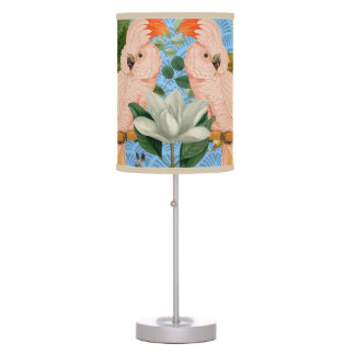 Perfect Parrots Table Lamp