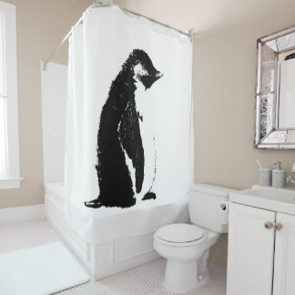 Perfect Penguin Shower Curtain