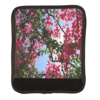 Perfect Pink Bougainvillea In Blossom Luggage Handle Wrap