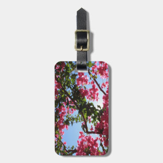 Perfect Pink Bougainvillea In Blossom Luggage Tag