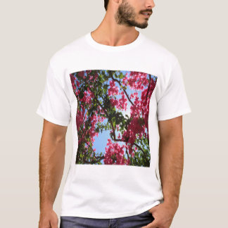 Perfect Pink Bougainvillea In Blossom T-Shirt