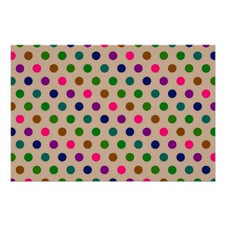 Perfect Poster Polka Dots